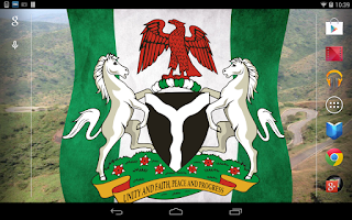 Screenshot of Naija Flag Live Wallpaper