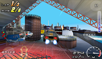 Screenshot of Raging Thunder 2 - FREE