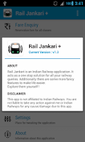 Screenshot of Rail Jankari Plus