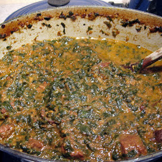 Saag Gosht (Beef in Fragrant Spinach Sauce)