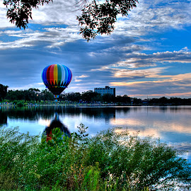 Colorful Balloon by James Martinez - Transportation Other