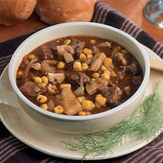 Beef Stew with Corn and Fennel