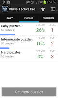 Screenshot of Chess Tactics Pro (Puzzles)