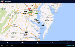 Screenshot of StreetEagle Mobile