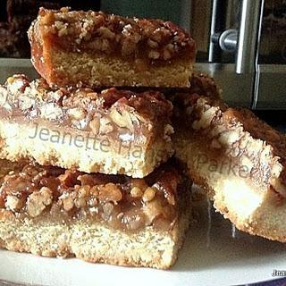 Caramel Pecan Bars Recipes