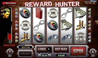 Screenshot of Reward Hunter Slot Machine