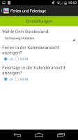 Screenshot of Deutsche Feiertage & Ferien