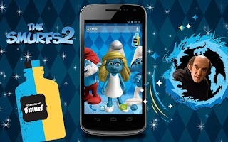 Screenshot of The Smurfs 2 3D Live Wallpaper