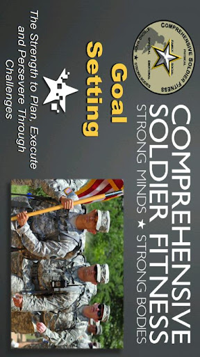 Goal Setting - Soldier Fitness