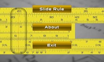 Screenshot of Slide Rule