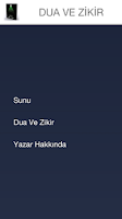 Screenshot of DUA VE ZİKİR