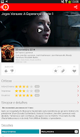 Screenshot of AdoroCinema