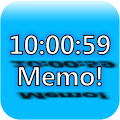 App Always on top clock and memo APK for Kindle