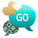 GO SMS - Teal Coco Design icon