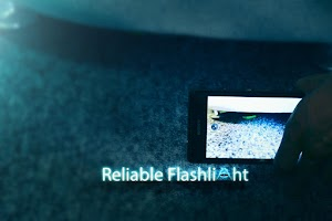 Screenshot of Reliable Flashlight PRO