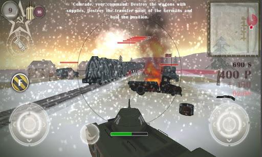 BATTLE KILLER TANK 34 3D - screenshot