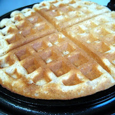 Sweet and Fluffy Malted Milk Waffles