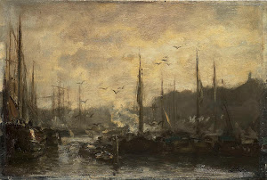 RIJKS: Jacob Maris: painting 1887