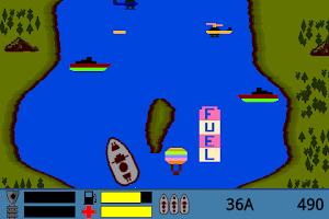 Screenshot of RiverRaider
