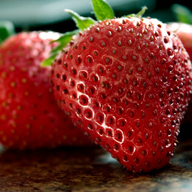Strawberries by Darlene Stewart - Food & Drink Fruits & Vegetables (  )