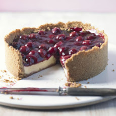 Baked Cherry Cheesecake