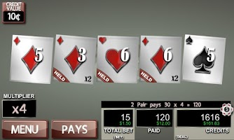 Screenshot of Hot Hand Poker