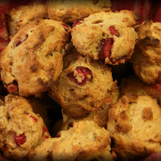 Tarrah's Version of Orange-Cranberry Scones
