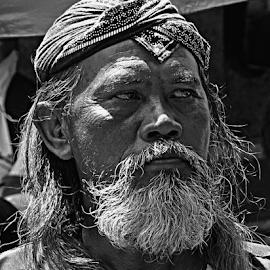 Pak Tua by Chilmi M - People Portraits of Men