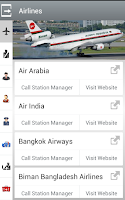 Screenshot of Dhaka International Airport
