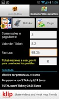 Screenshot of Calculadora Ticket Comida PRO