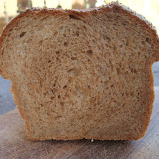 Soft Crust Whole Wheat Bread