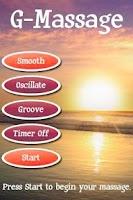 Screenshot of G-Massage