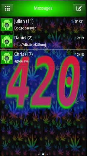 4 20 Special Go SmS Theme 420