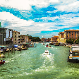 Venice, Italy by Stan Petru - City,  Street & Park  Vistas ( venice, italy, city )