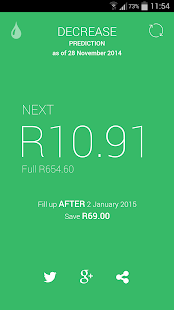 FillApp: SA Fuel Alerts - screenshot