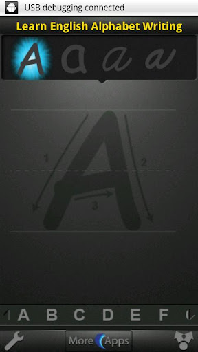 Learn English Alphabet Writing