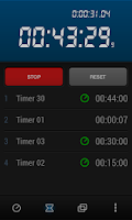 Screenshot of Krono Stopwatch & Timer