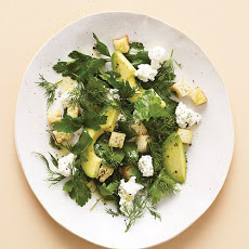 Avocado Salad with Farmer Cheese Recipe