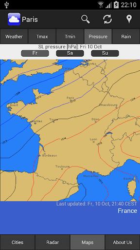 WeatherOnline Weather - screenshot