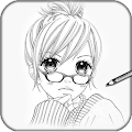 Learn to Draw Anime Manga APK for Bluestacks