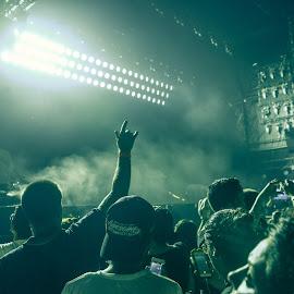 Concert by Adrian D'Cunha - People Musicians & Entertainers ( #artpop     #ladygaga     #artrave     #artravedubai     #artpopball     #concert )