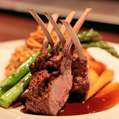 Berbere-Crusted Rack of Lamb