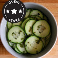 Marinated Cucumber With Mint