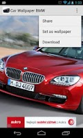 Screenshot of Car Wallpaper BMW