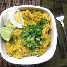 Kedgeree (British Curried Rice With Smoked Haddock)