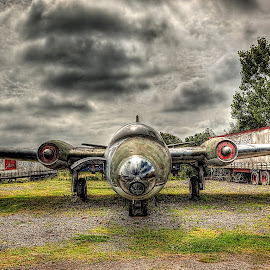 Canberra... by Graham Markham - Transportation Airplanes ( aviation, promote control, bracketed, photomatix, gatwick, hdr, 9 exposures, lightroom, museum, planes, photoshop )