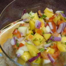 Apple Mango Salsa