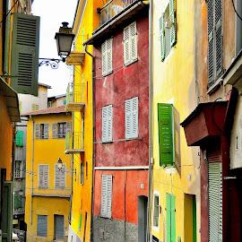 Nice by Bertrand Lavoie - City,  Street & Park  Street Scenes ( nice )