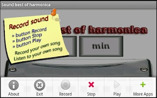 Screenshot of Harmonica