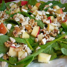 Autumn Salad With Bleu Cheese